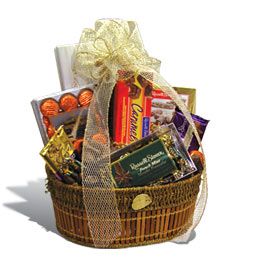 ... Gift Baskets Choc Eggs AlmondCookies Fudge Truffles