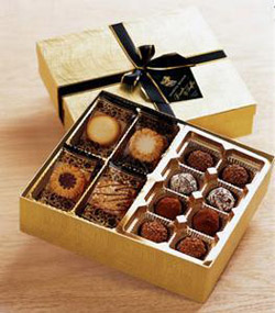 Chocolates UK+Ireland: Chocolate Gift Baskets•Irish Gourmet Hampers ...