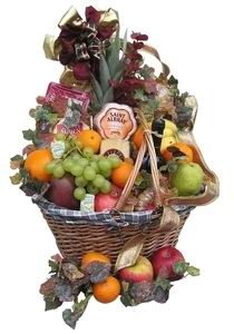 'Unique' Gourmet Fruit Baskets Ireland - England - Scotland - Wales Online - Click Here !