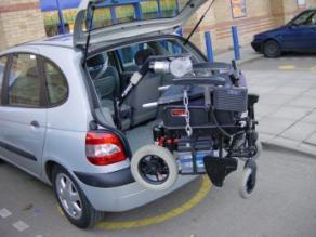 Portable Wheelchair - Disabled Cars